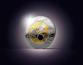 3D Ripple coin