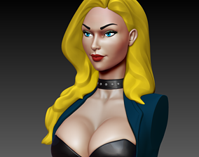 3D print model Black Canary - Bust
