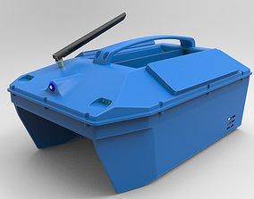 Bait Boat for carpfishing DIY 3D print model hobby
