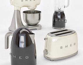 3D model appliances home smeg