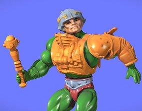 80s MOTU MAN-AT-ARMS FIGURE- 3D SCAN