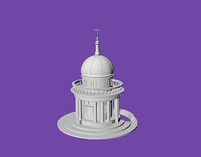 3D printable model Round Temple