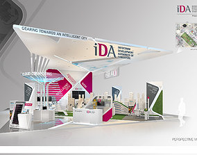 Exhibition Stands 3D model event
