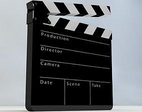 3D model Film Slate Clapper