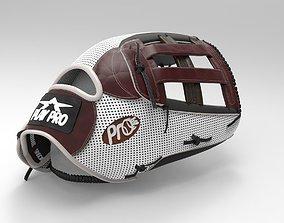 Baseball Glove Custom 3D model