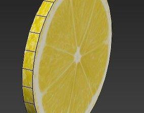 3D model Piece of Lemon