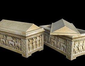Cypriot Sarcophagus 3D asset