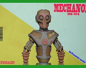 3D printable model MECHANOID
