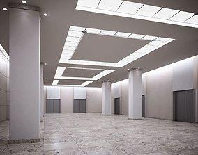 3D Empty Spacious Garage