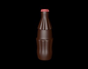 Bottle plastic 3D model