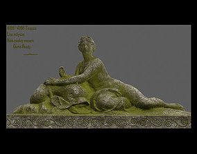 3D model woman statue