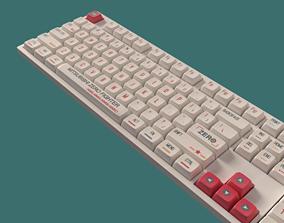 laptop Mechanical Keyboard 3D