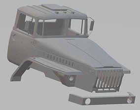 Ural 44202 Printable Cabin Truck
