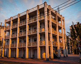 BUILDING URBAN AREA HONGKONG JAPAN CHINA ASIAN 10 3D asset
