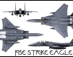 3D F-15E Strike Eagle