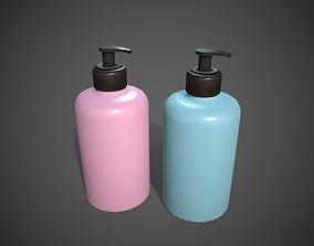 Soap Pumps Containers 3D asset