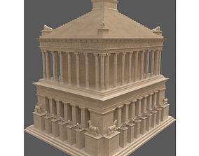 Mausoleum at Halicarnassus mausoleum 3D model