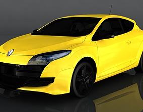 Renault Megane 3D model VR / AR ready