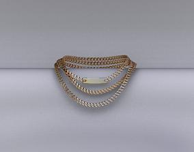 earrings 3D asset VR / AR ready Necklace