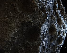 3D Detailed hight-poly asteroid