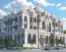 3D model Luxury Classic Grand Palace