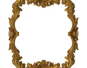 architectural 3D Carved Picture Frame