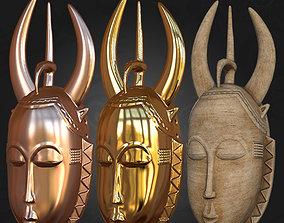 Vintage Guro Face Mask 3D Printable
