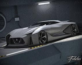 3D Nissan 2020 garage