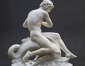 Arion assis sur le dauphin Orsay 3D printable model