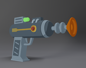 Ray Gun from Rick and Morty 3D Printer Ready