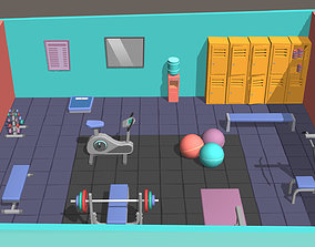 3D model Hyper Casual Gym