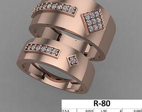 Couple Rings 3D printable model