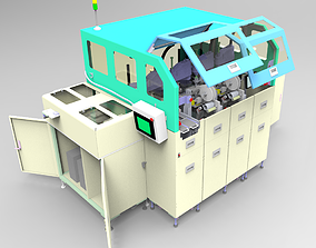 Automatic linear loop placement machine 3D