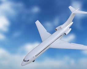 airbus 3D model Boeing 727