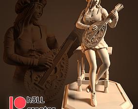 3D printable model Priscilla