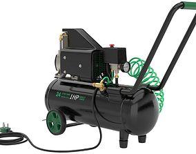 Air Compressor 1 Textured 1 3D