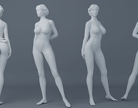 3D print model Fullness woman wearing swimsuit 003