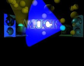 music 3D asset