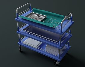 3D Surgical Instruments - Medical Equipment Collection