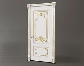 Classic Baroque Door 3D model