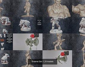 3D Draenei Set 1