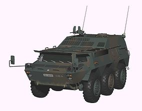3D Japan Ground Self-Defense Force Type82 CCV