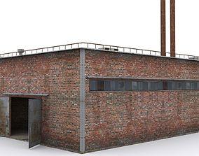 industrial Hangar 3D asset realtime