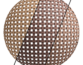 Wicker materials 5- PBR 4k by Sbsar 3D