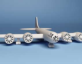 printable Boeing B-29 Superfortress Plane