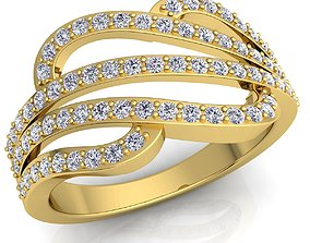 engagement New Fancy Diomand Ring 3d Model Print