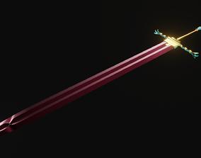 3D model divine sword
