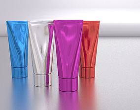 3D asset Cosmetic tube