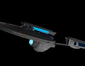 Detroyat-Class Destroyer TMP refit 3D