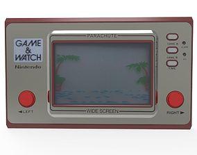 3D asset Parachute Game watch